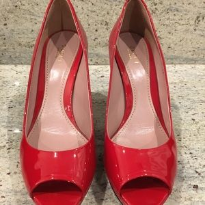 Gucci Patent Pumps (Red)